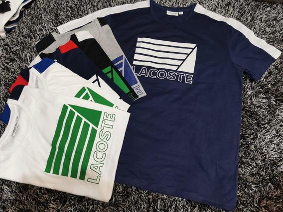 Camiseta Lacoste Regular Linish Original