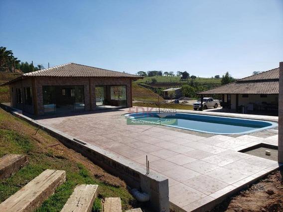 Chácara Com 4 Dormitórios À Venda, 21000 M² Por R$ 750.000,00 - Jardim Colônia - Jacareí/sp - Ch0154