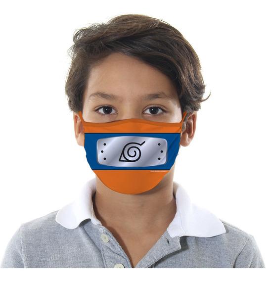 Mascara De Protecao Naruto Infantil M