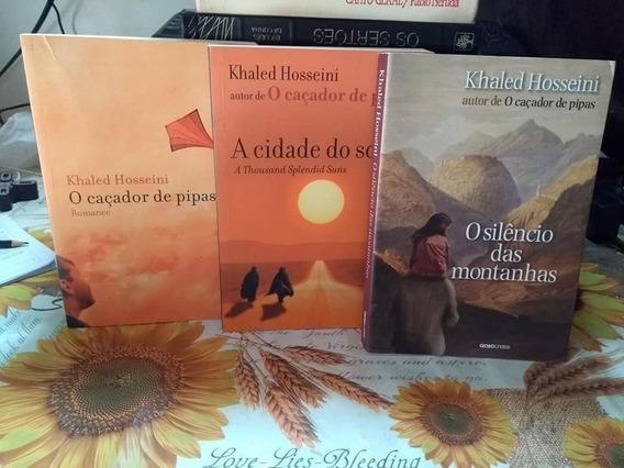 Khaled Hosseini 3 Livros Kit Combo Coleção