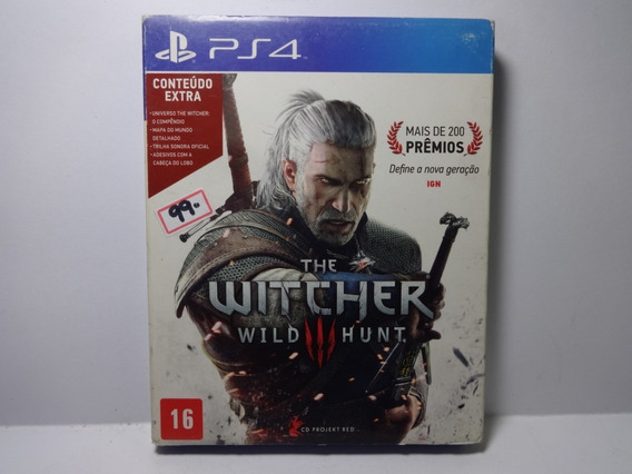 The Witcher Wild Hunt Original Ps4 Play 4