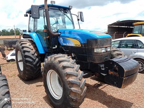 Trator New Holland Tm7040