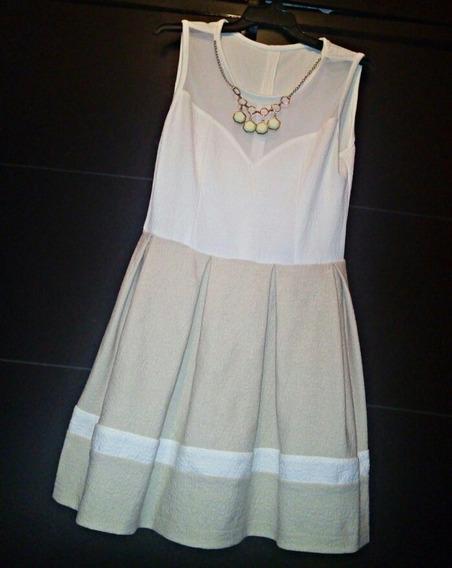 Vestido Color Crema.