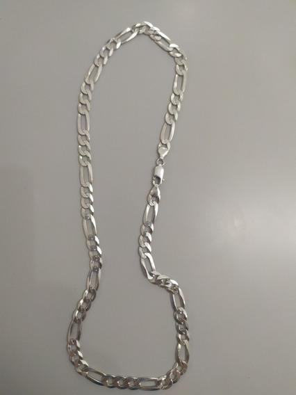 Corrente De Prata 925 - 01cm Largura X 60cm Comprimento
