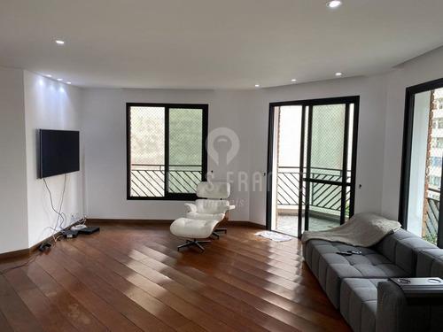 Imagem 1 de 15 de Vendo Excelente Oportunidade: Apartamento: 180 M², 4 Dormitórios, 2 Suítes E 2 Vagas, Vl Mariana. - Cf61709