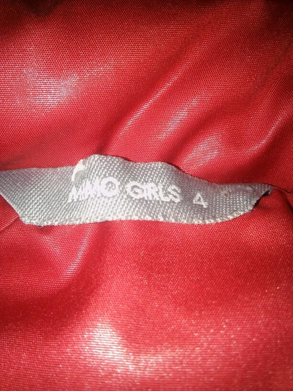 Campera Mimo Talle 4
