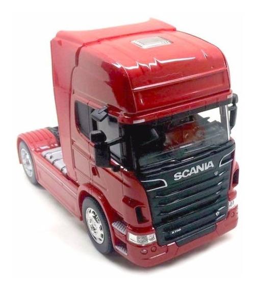 Miniatura Caminhão Scania V8 Toco Diversas Cores Escala 1:32