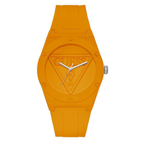 Relógio Guess Retro Pop Silicone Laranja W0979l11 U0979l11