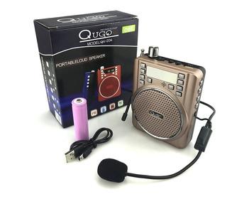 Megáfono Amplificador Parlante Vincha Micrófono Mp3 Usb Fm