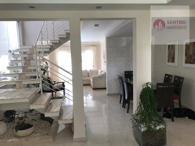 Casa Residencial À Venda, Condomínio Aruã, Mogi Das Cruzes. - Ca0007