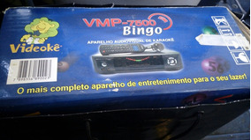 Videokê Vmp-7500 Bingo