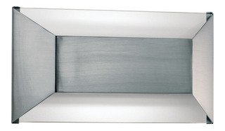 Lampara Aplique Difusor Interior Topo Para 2 Luces G9 P/led