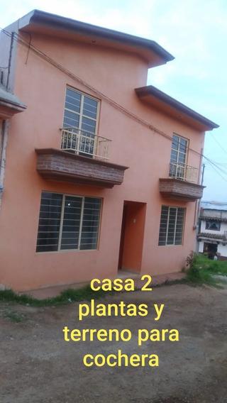 Casa Zacatlan 3 Recamaras 1 Baño 1/2 Y Terreno (cochera)
