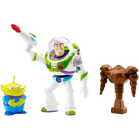 Fisher Price Deluxe Buzz Com Marciano - Mattel