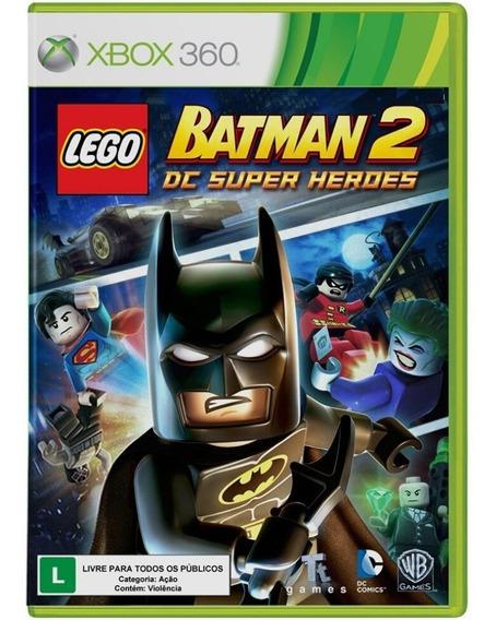 Jogo Lego Batman 2 Dc Super Heroes - Xbox 360 - Usado