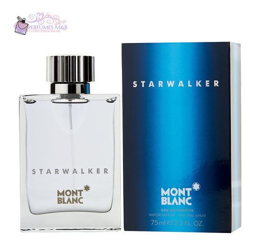 Perfume Mont Blanc Starwalker 75ml Original Garantia