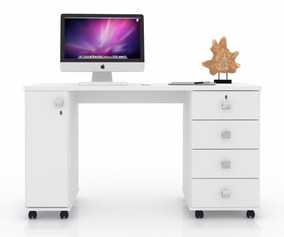 Mesa Computador Office Smart - Lukaliam Móveis