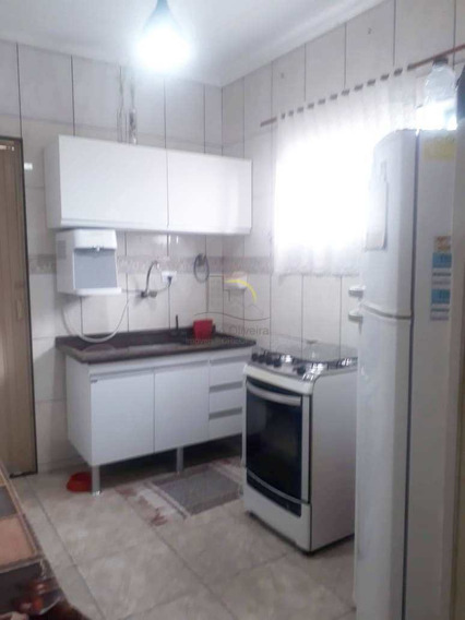 Apartamento Com 2 Dorms, Parque Bitaru, São Vicente - R$ 220 Mil, Cod: 1701 - V1701