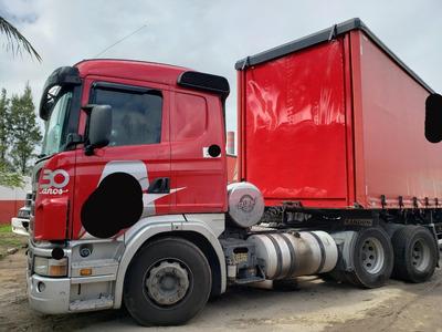 Scania G420 Bug Leve 6x4 Ano 2011 C/ Retarder, Único Dono