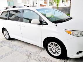 Toyota Sienna 3.5 Xle Piel Mt 2014 Excelente Estado