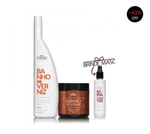 Kit Banho De Verniz Professional + Kera 200ml Brinde