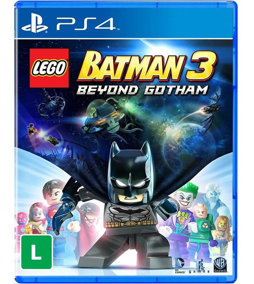 Lego Batman 3 Beyond Gotham Ps4 Midia Fisica Novo Português