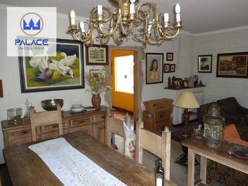 Imagem 1 de 13 de Casa Com 3 Dormitórios À Venda, 208 M² Por R$ 570.000,00 - São Dimas - Piracicaba/sp - Ca0157