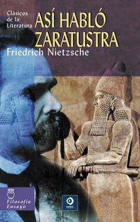 Así Hablo Zaratustra, Friedrich Nietzsche, Edimat
