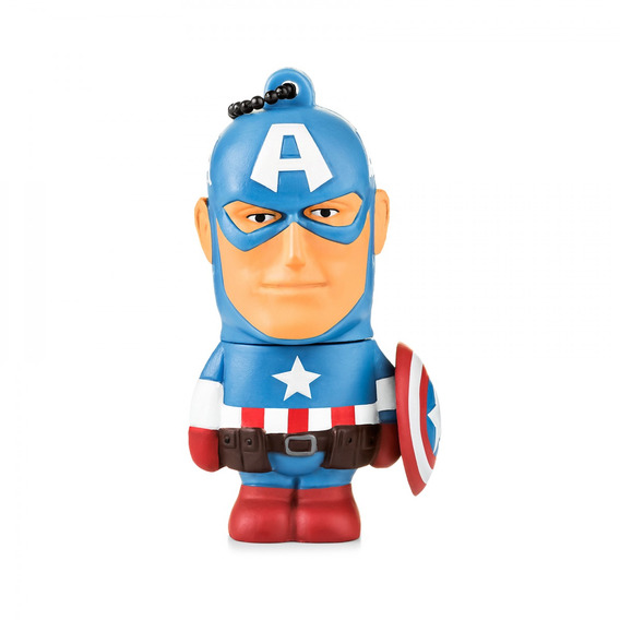 Pendrive Multilaser Marvel Vingadores Capitão America 8gb Pd