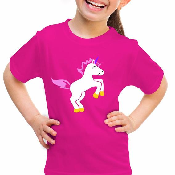 Playera Unicornio Rainbow Pony Niña Niño