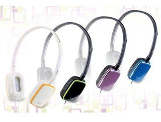 Auricular Genius Azul Ghp-420s Stylish Headphones