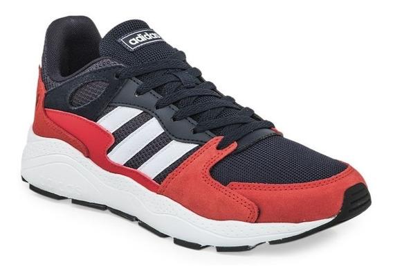 Zapatillas De Moda adidas Crazychaos Azul Rojo Hombre Ef1051