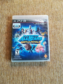 Playstation All Stars Battle Royale Ps3 Original Usado