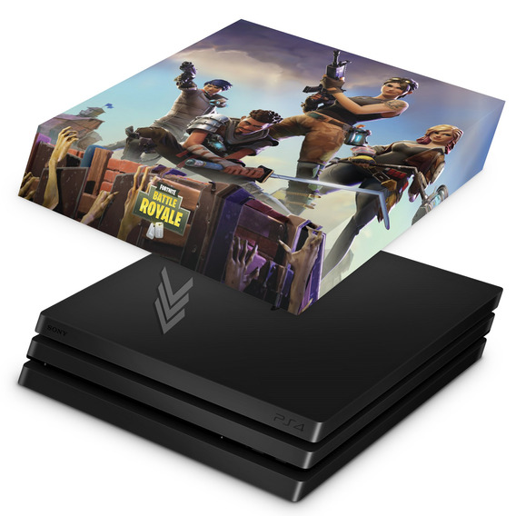 Capa Ps4 Pro Anti Poeira Playstation Fortnite Battle Royale