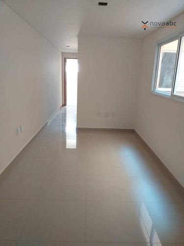 Cobertura À Venda, 49 M² Por R$ 350.000,00 - Vila Camilópolis - Santo André/sp - Co0358