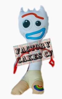 Forky Muñeco Toy Story Peluche 30 Cm Toy Story 4 Nuevos
