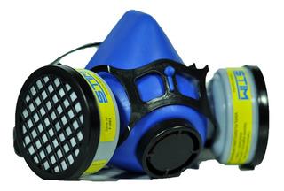 Semimascara Respiratoria Doble Vapores Organico + 2 Filtros