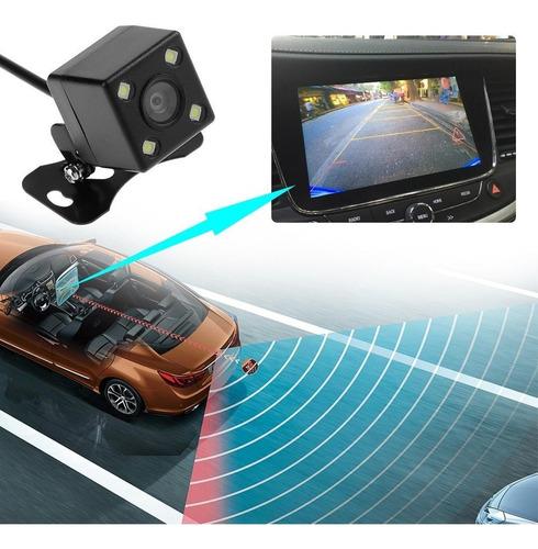 Camara Retroceso Auto 4 Leds  Vision Nocturna