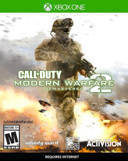 Call Of Duty Modern Warfare 2 Remastered Xbox One Digital
