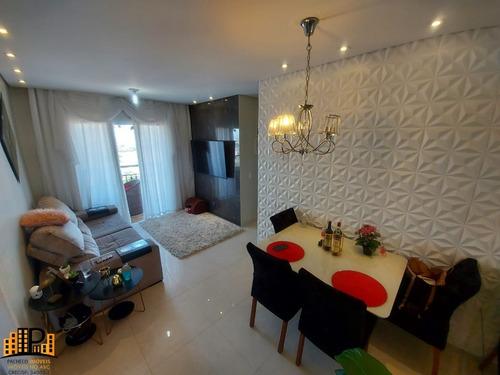 Imagem 1 de 26 de Apartamento 03 Dormitorios C/suíte, 01 Vaga 65m2 Móveis Planejados  À Venda Oasis Cursino - Vila Morães - São Paulo - Ap03432 - 69909587