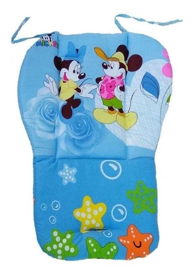 Capa De Carrinho De Bebê Mickey Importado