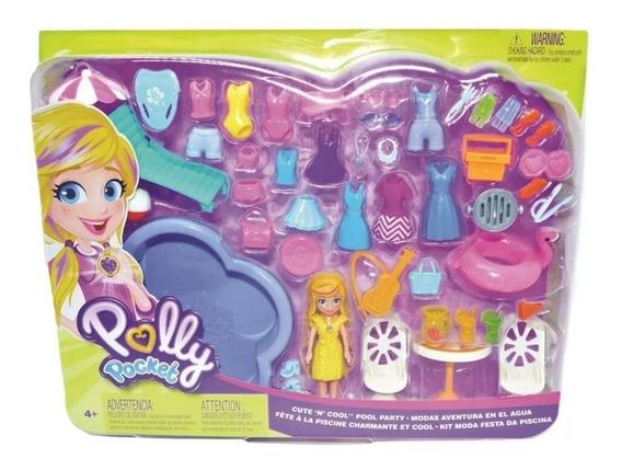 Polly Pocket Festa Na Piscina - Gfr07 Mattel