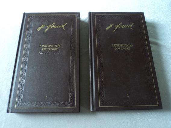 Raridade!! A Interpretação Dos Sonhos - Freud - 2 Volumes!