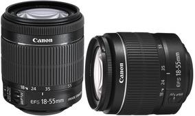 Lente Canon Original 18-55mm - Duas Lentes Pelo Preço De Uma