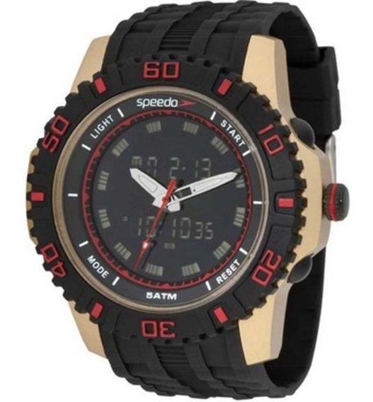 Relógio Masculino Speedo Sport Life Style 81155g0evnp1 Preto