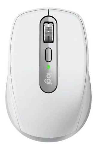 Mouse sem fio recarregável Logitech  MX Anywhere 3 cinza-pálido