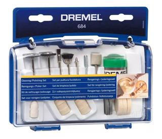 Kit 20 Accesorios Pulir Dremel 684 Para Limpieza Pulido