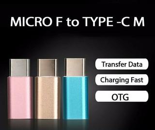 Adaptador Tipo C Para Cabo Micro Usb S8 G6 A7 A5 Mi5 Moto Z