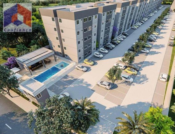 Apartamento À Venda Em Caucaia/ce - Ap0250