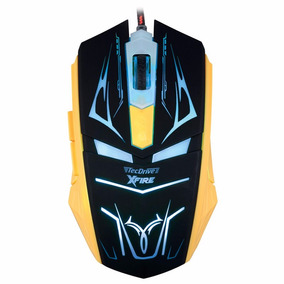 Mouse Gamer Tecdrive Xfire Neith 3200 Dpi 7 Botões Verde+ Nf